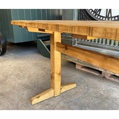 Solid Reclaimed Pine Refectory Table