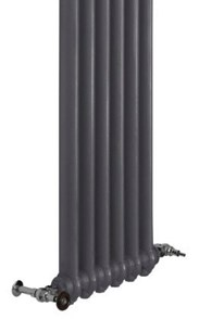 Tall Wall Mounted Cast Iron Radiator