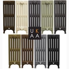 The Standard Paint Colours For Carron Cast Iron Radiators