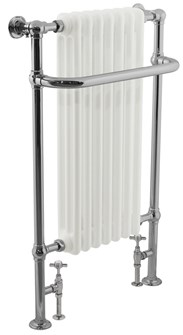 Towel Rail with Radiator inserts in Traditional Styles