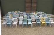 Traditional Hand Painted Church Chairs
