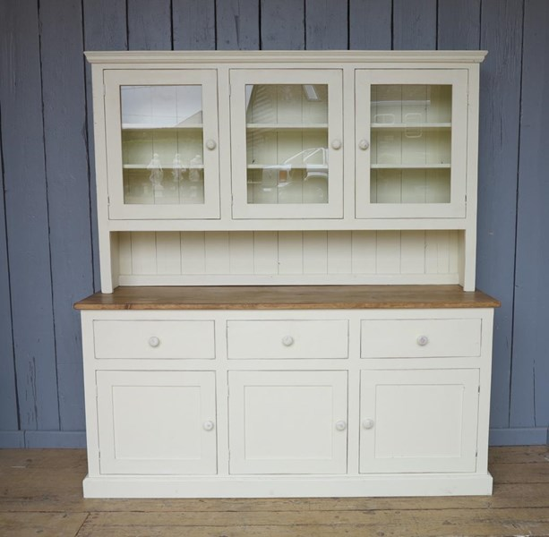 Traditional Pine Kitchen Dresser Made To Measure
