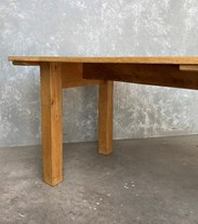 Traditional Solid Oak Dining Table