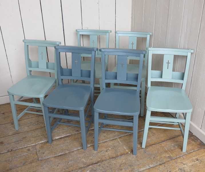 UKAA Antique Church Chair Painting Service