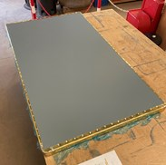 Underneath Of The Brass Table Top