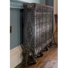 Verona Style Radiator In Hand Burnished