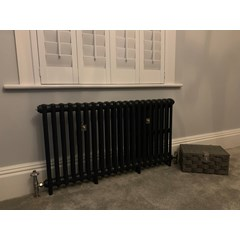 Victorian 2 Column Cast Iron Radiator
