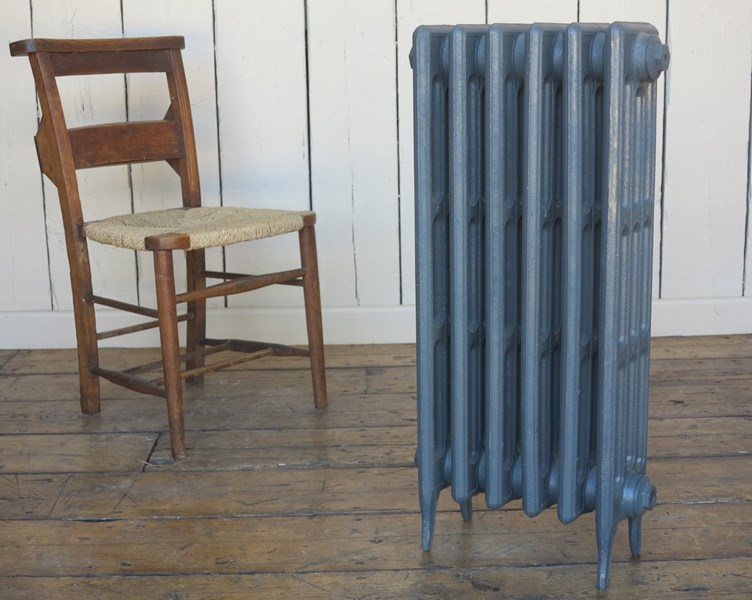 Victorian 4 Column 810mm Tall Cast Iron Radiator 6 Sections