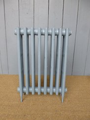 Victorian 4 column cast iron radiator - 8 Sections Long
