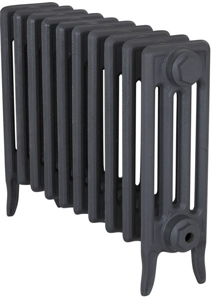 Victorian 4 Column Cast Iron Radiator to Go 10 Sections Long
