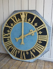 Victorian copper clock dials for sale