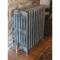 Victorian Radiator In Antiqued French Grey