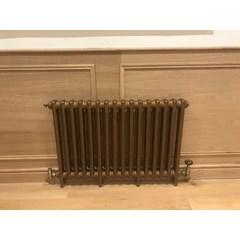Victorian Style Carron Cast Iron Radiator Fitted