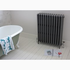 Victorian Style Cast Iron Radiator In A Happy Customers Home