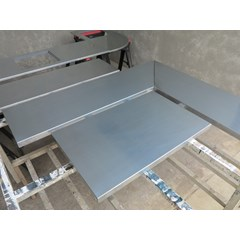 Zinc Kitchen Counter