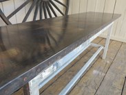 Zinc Kitchen or Bar Tops are Made To Order at UKAA