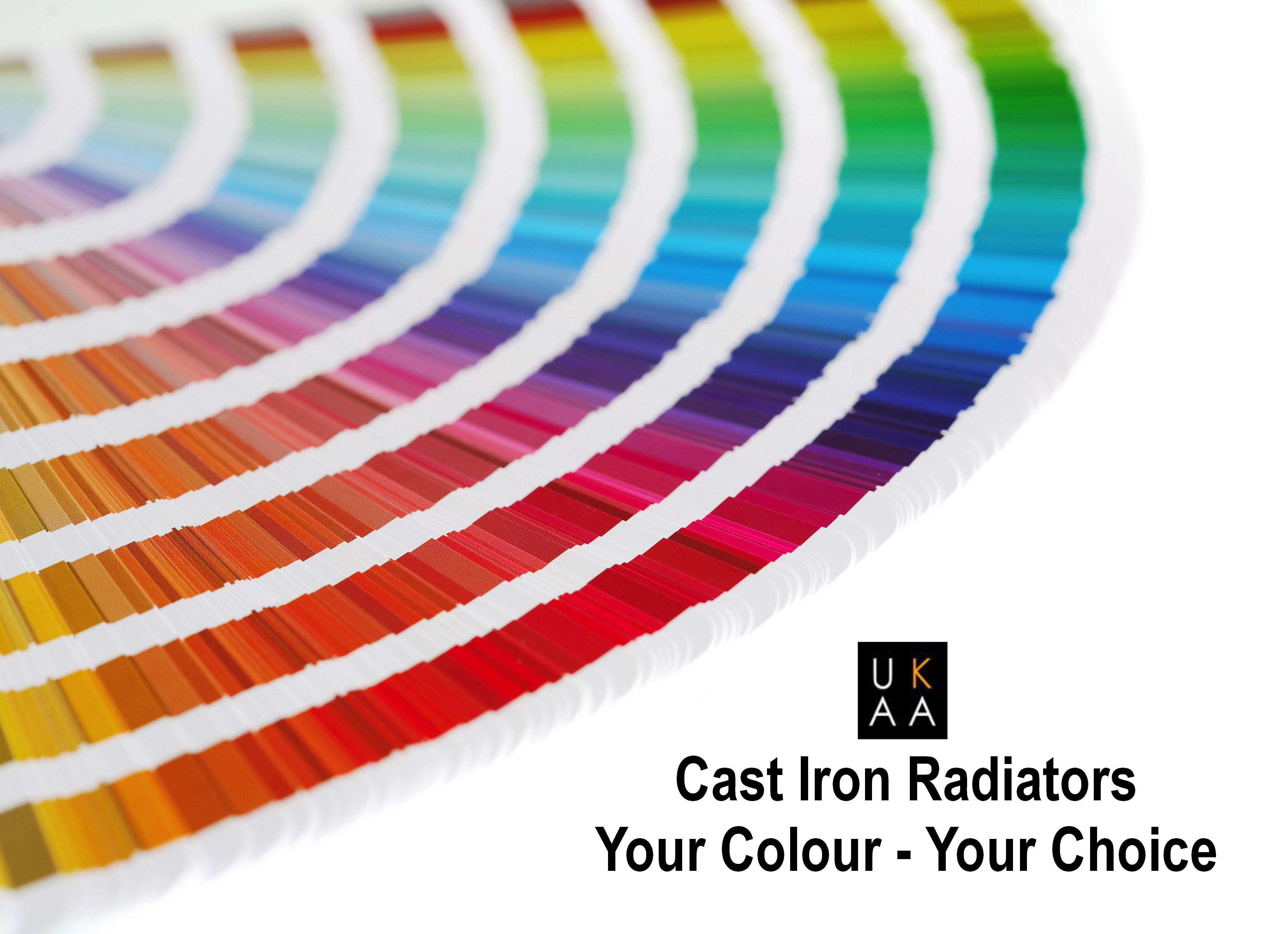 UKAA Cast Iron Radiators Colour Choice