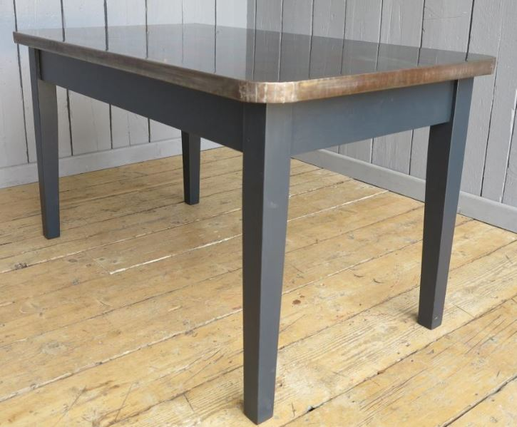 copper table bespoke made to measure