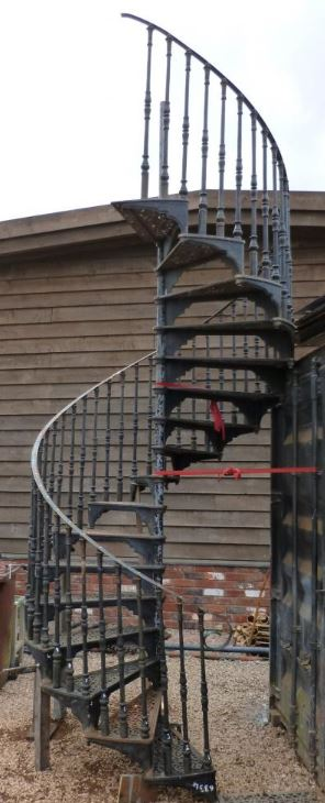 spiral staircase for sale cast iron reclaimed spiral stair case