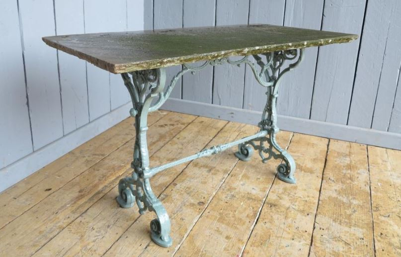 table cast iron reclaimed antique for sale