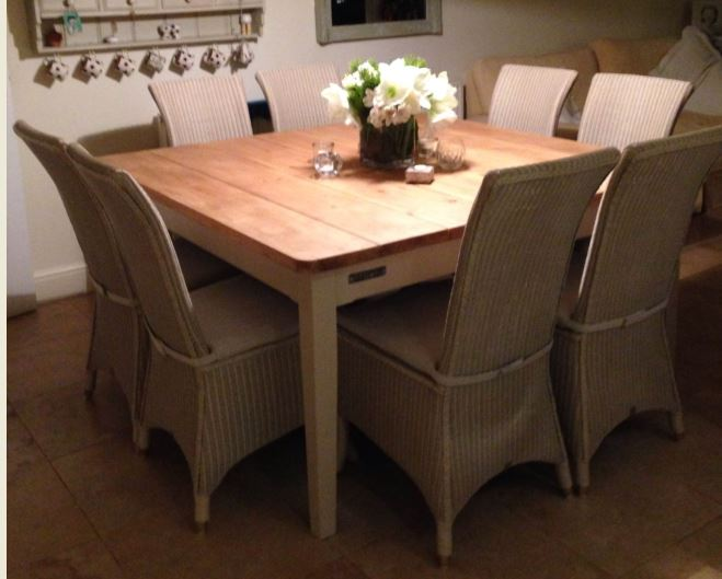 table bespoke farrow and ball London Stone victorian board