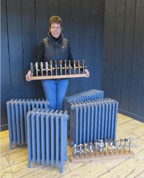 radiators cast iron next day old style carron