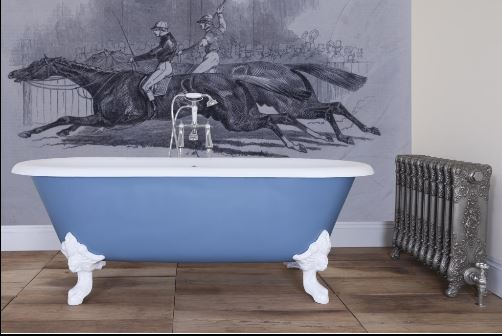 bath cast iron baths carron bathroom new bespoke colour painted polished quality