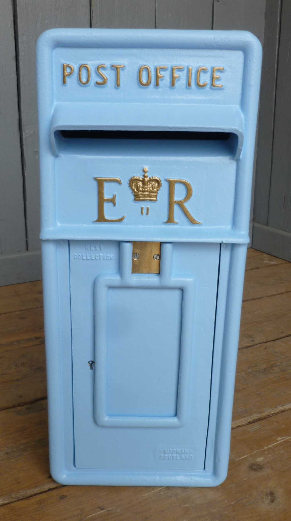 royal mail post box bespoke for sale antique colour