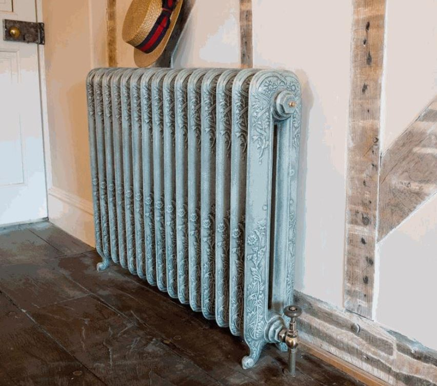 radiator cast iron carron ornate victorian home painted bespoke
