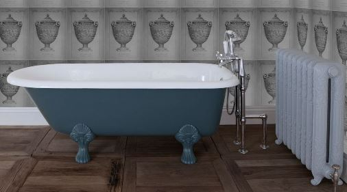 Carron Cast Iron Bath Metal Copper Nickel New Cambridge Bespoke Painted