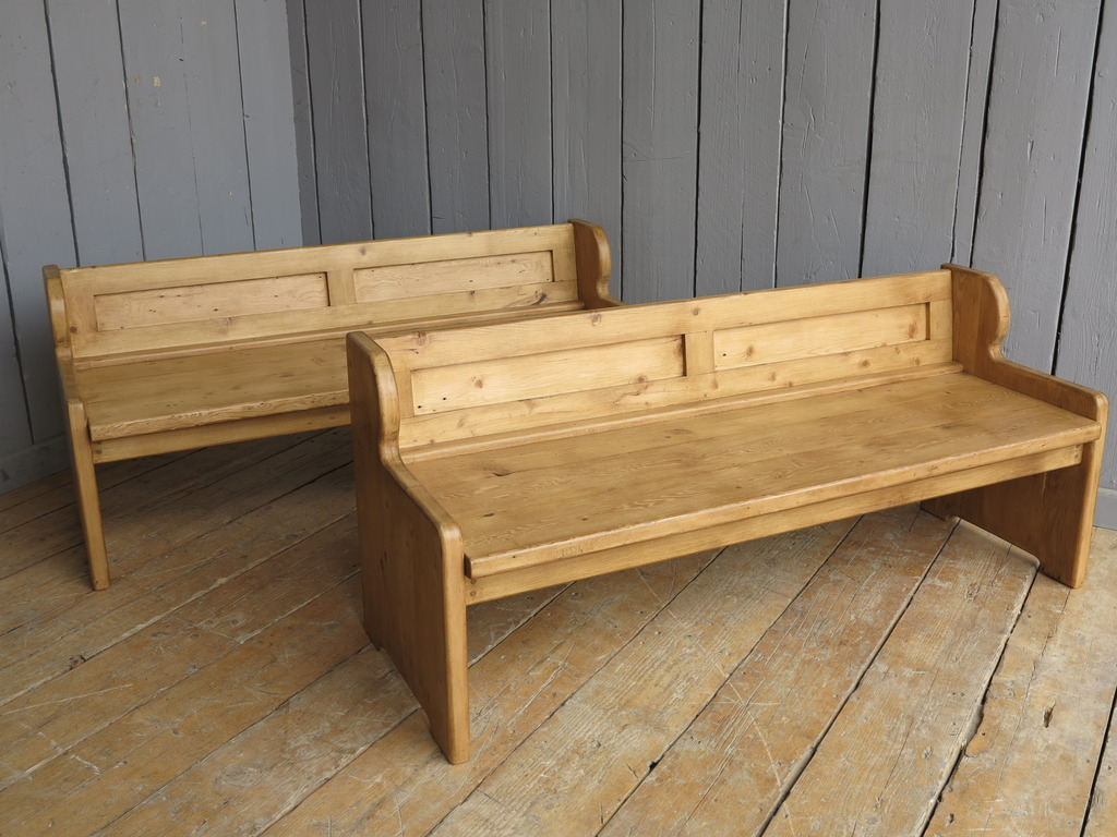 Bespoke Reclaimed Pine Church Pew Furniture Seat Seating Chair Storage Wood Painted