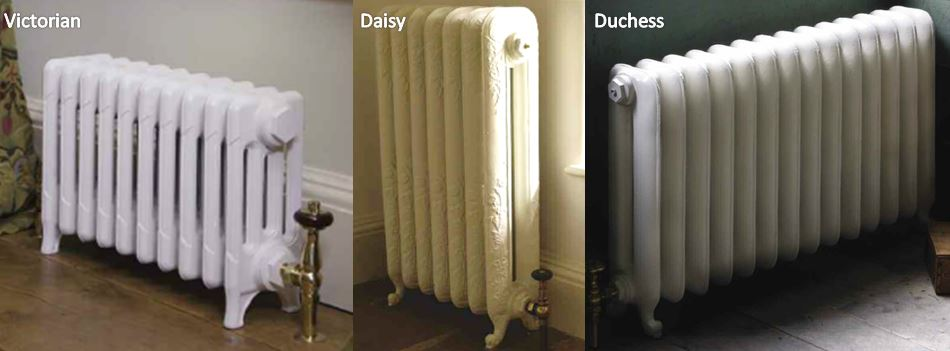 Cast Iron Radiators Next Day Victorian Daisy Duchess Traditional Heating Painted Primer Bespoke In Stock Carron High Quality