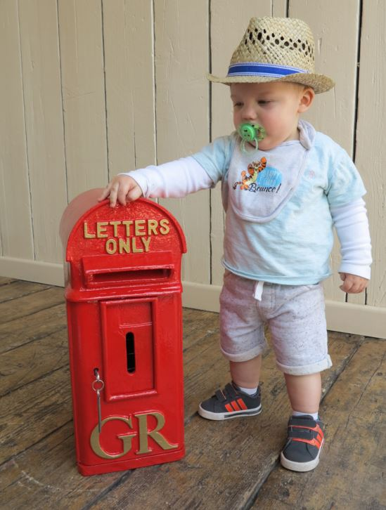 UKAA have original old red Royal Mail Post Boxes and antique letter boxes for sale that have been fully refurbished including chubb lock and key
