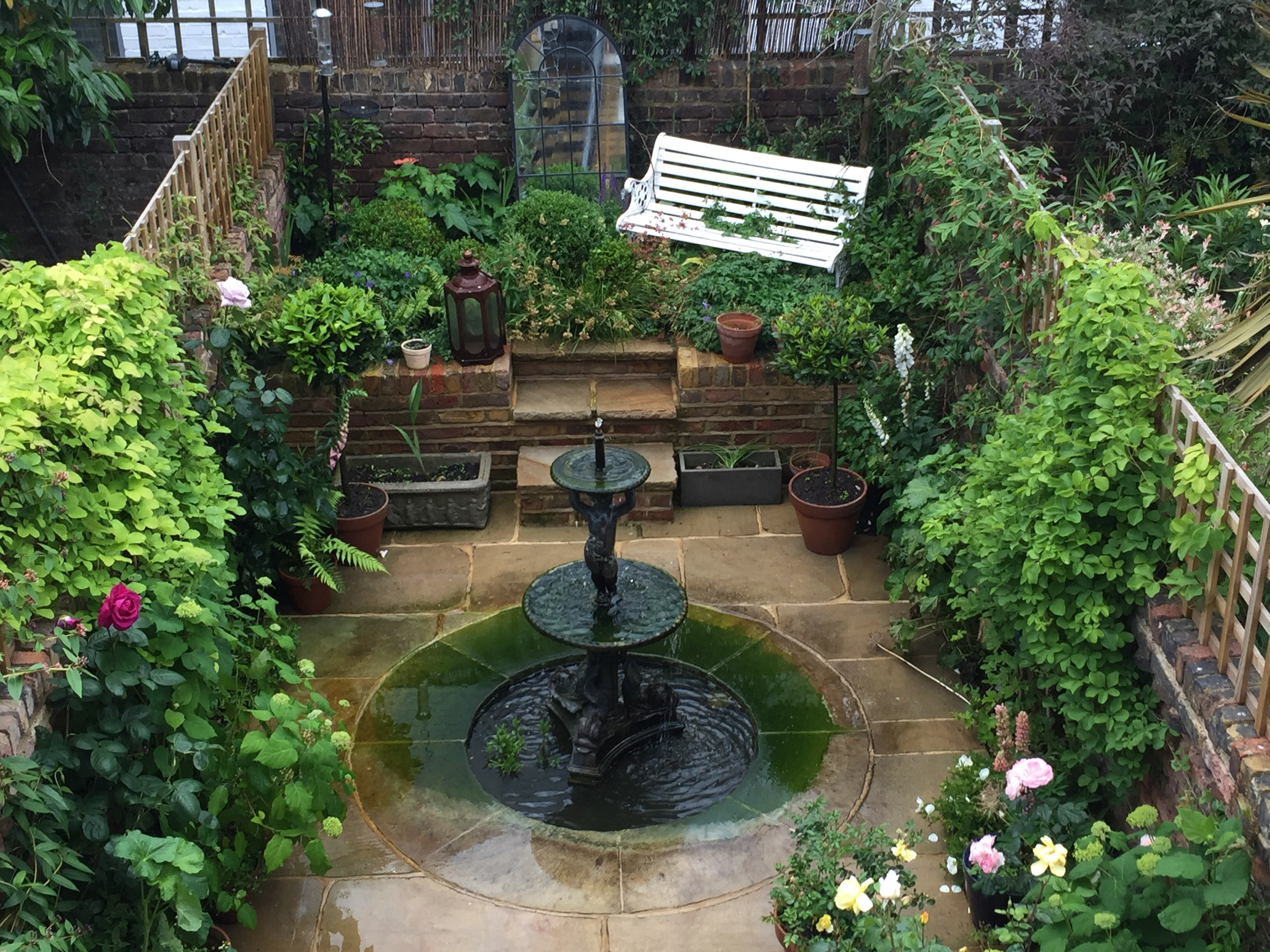Buy antique cast iron water fountains and features at UKAA. Genuine old water fountains fitted in traditional gardens add character to your home