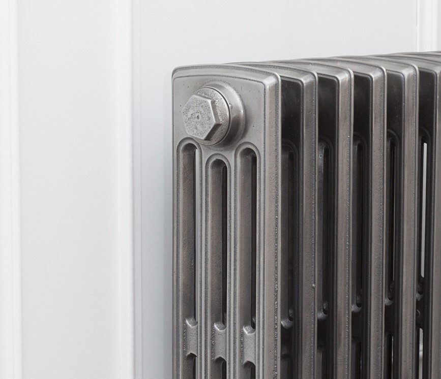 Carron cast iron radiators in the Rathmell style