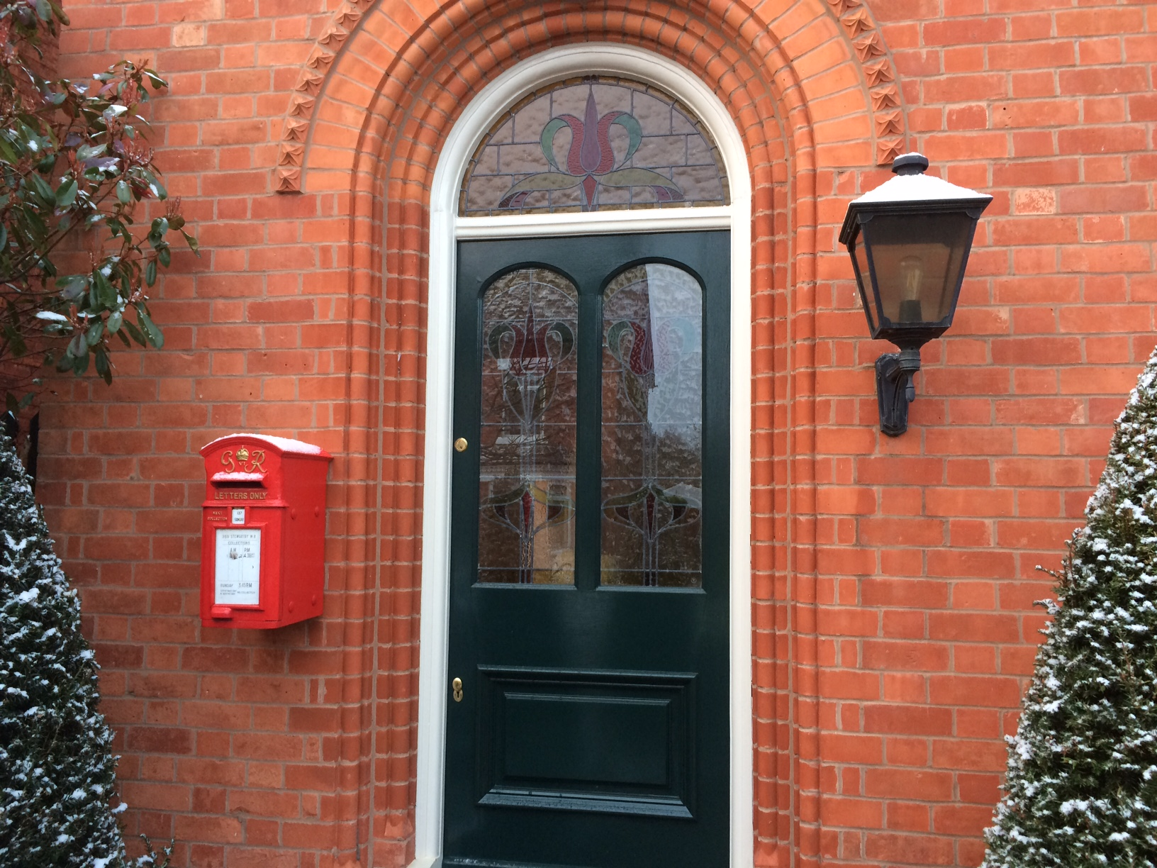 Antique  George VI Letters Only Royal Mail Post Box Fitted for use as a personal post box in a traditional home. Genuine British post boxes available online