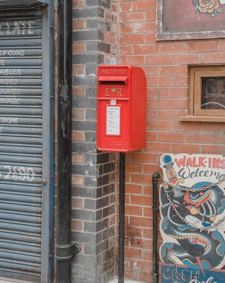 Coronation Street post box purchased from UKAA