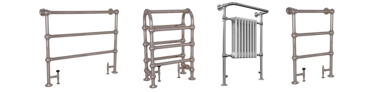 Nickel towel rails