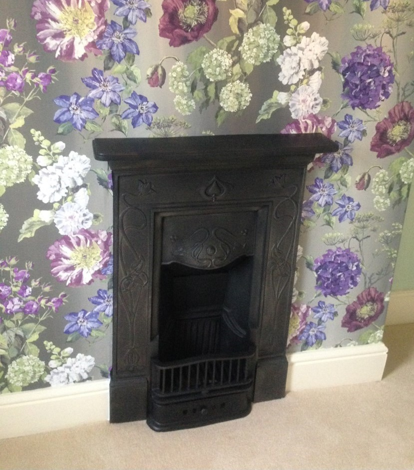 Traditional Victorian fireplace fitted in a happy customers home
