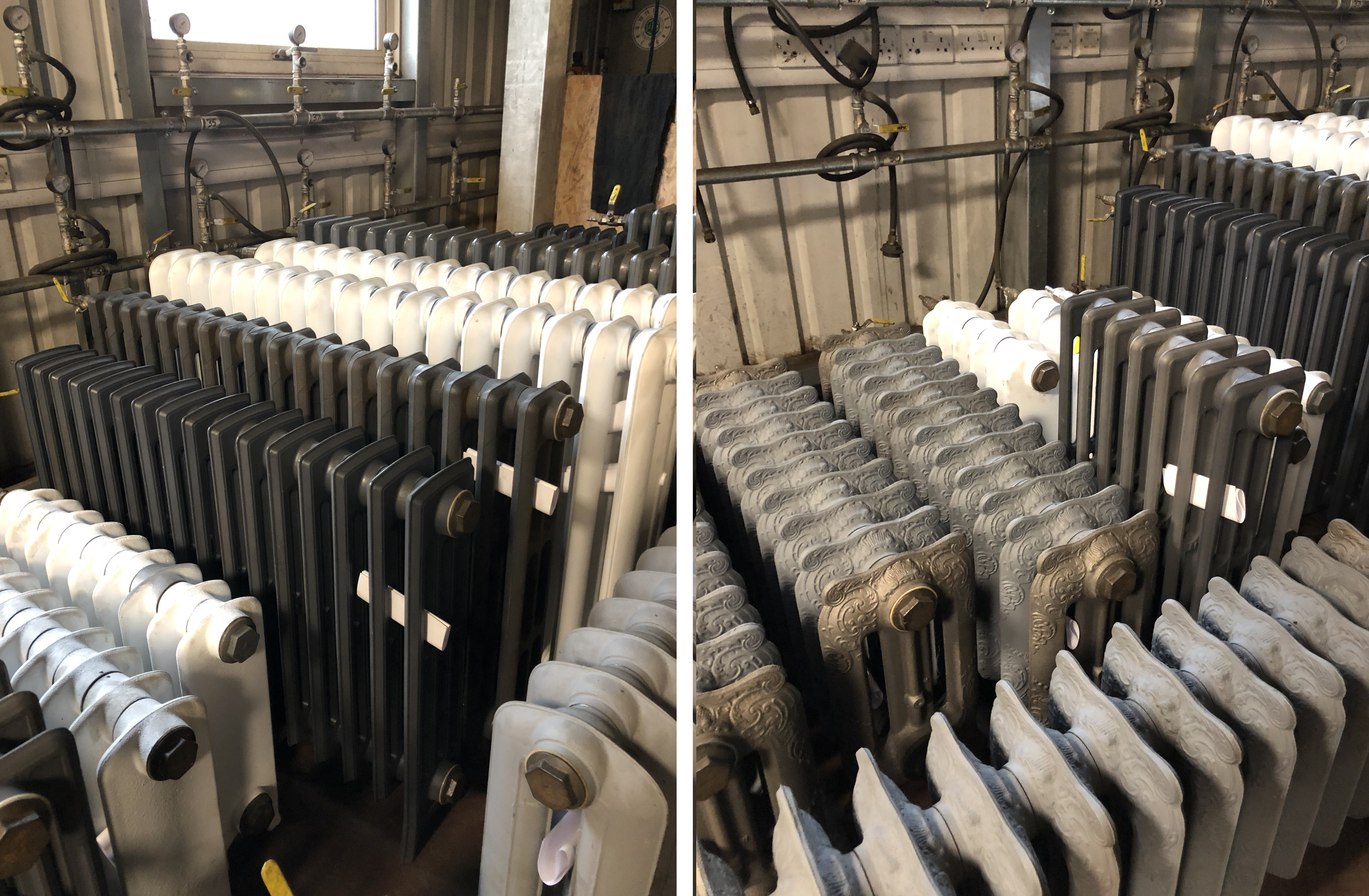 Carron Cast Iron Radiators Being Made In The Factory