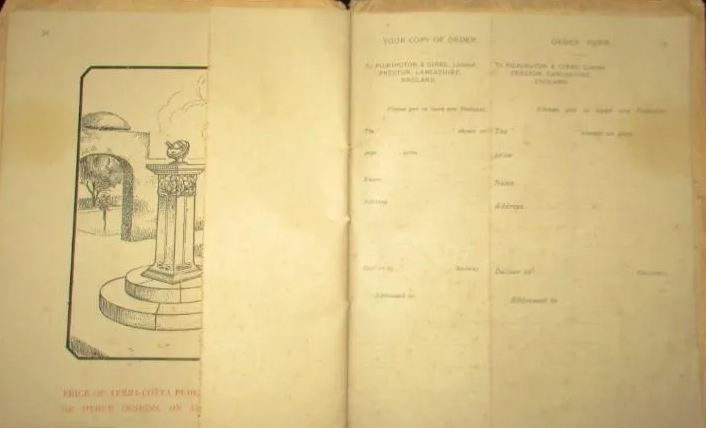 View Old Original Catalogue Of Pilkington Gibbs Sundials
