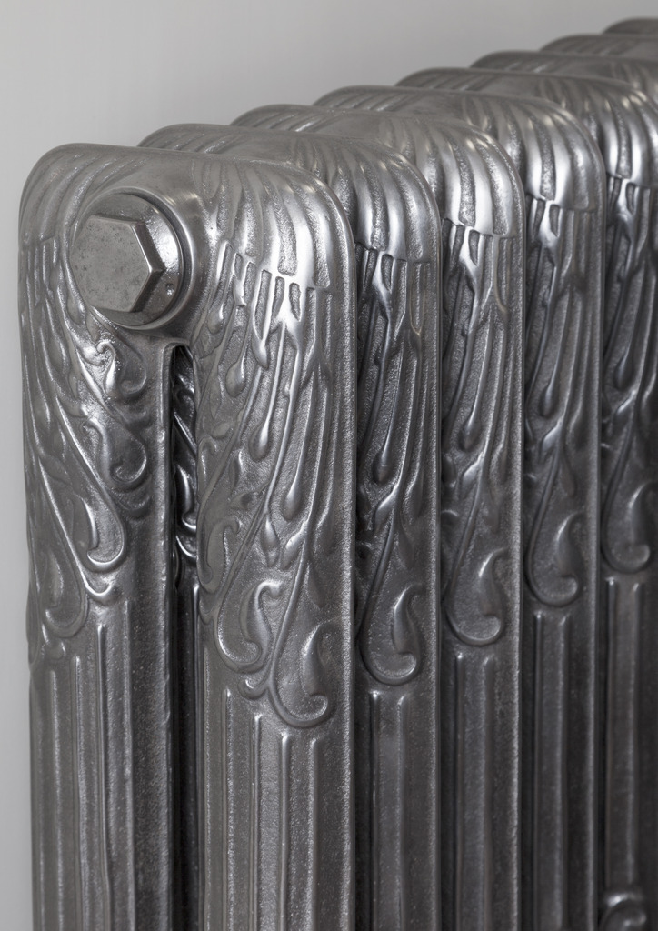 Hand Burnished Cast Iron Sleeping Swan Radiator made by Carron and Sold Worldwide by UKAA
