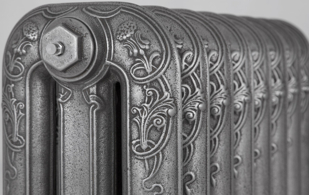 Cast Iron Thistle Radiator made by Carron and Sold Worldwide by UKAA