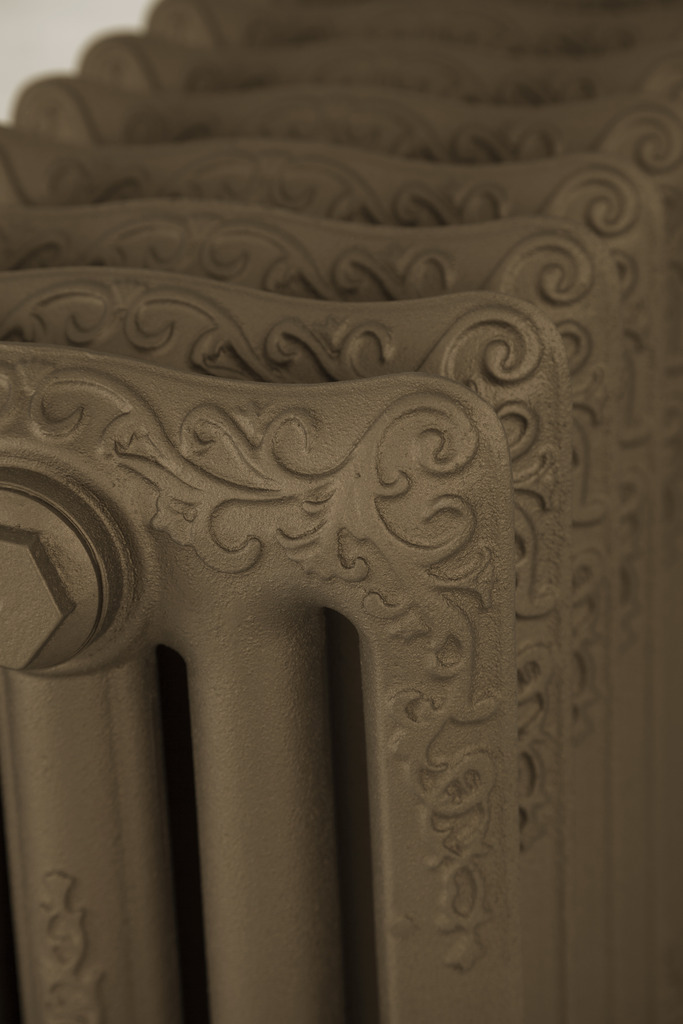 Painted Cast Iron Turin Radiator made by Carron and Sold Worldwide by UKAA
