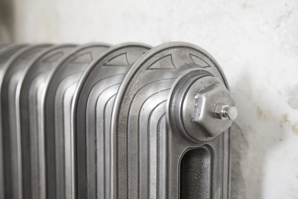 Polished Cast Iron Tuscany Radiator made by Carron and Sold Worldwide by UKAA