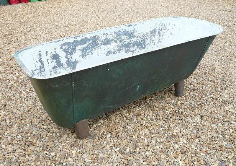 Antique reclaimed cast iron bathtubs are suitable for old fashioned bathrooms and are ready to be viewed in our reclamation yard in Staffordshire