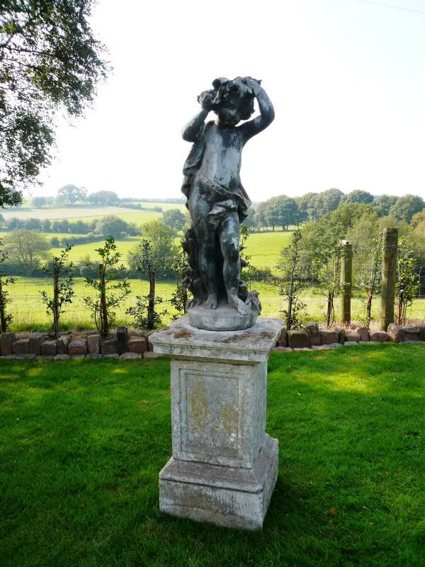 Original Antique Lead J P White Statues are available From Our Warehouse Staffordshire for Delivery Worldwide