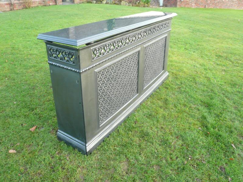 Cast iron radiator cover rx153 - Cast iron radiator covers ...