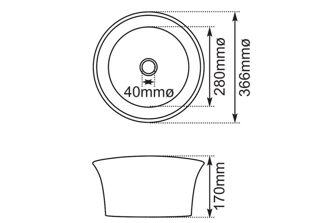 Dimensions Of Hurlingham Cast Iron Tub Basin