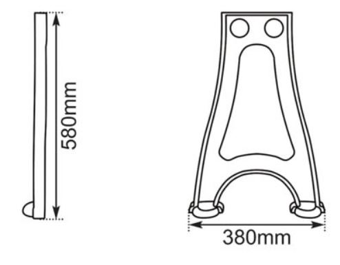 Dimensions Of Hurlingham Cast Iron Stand